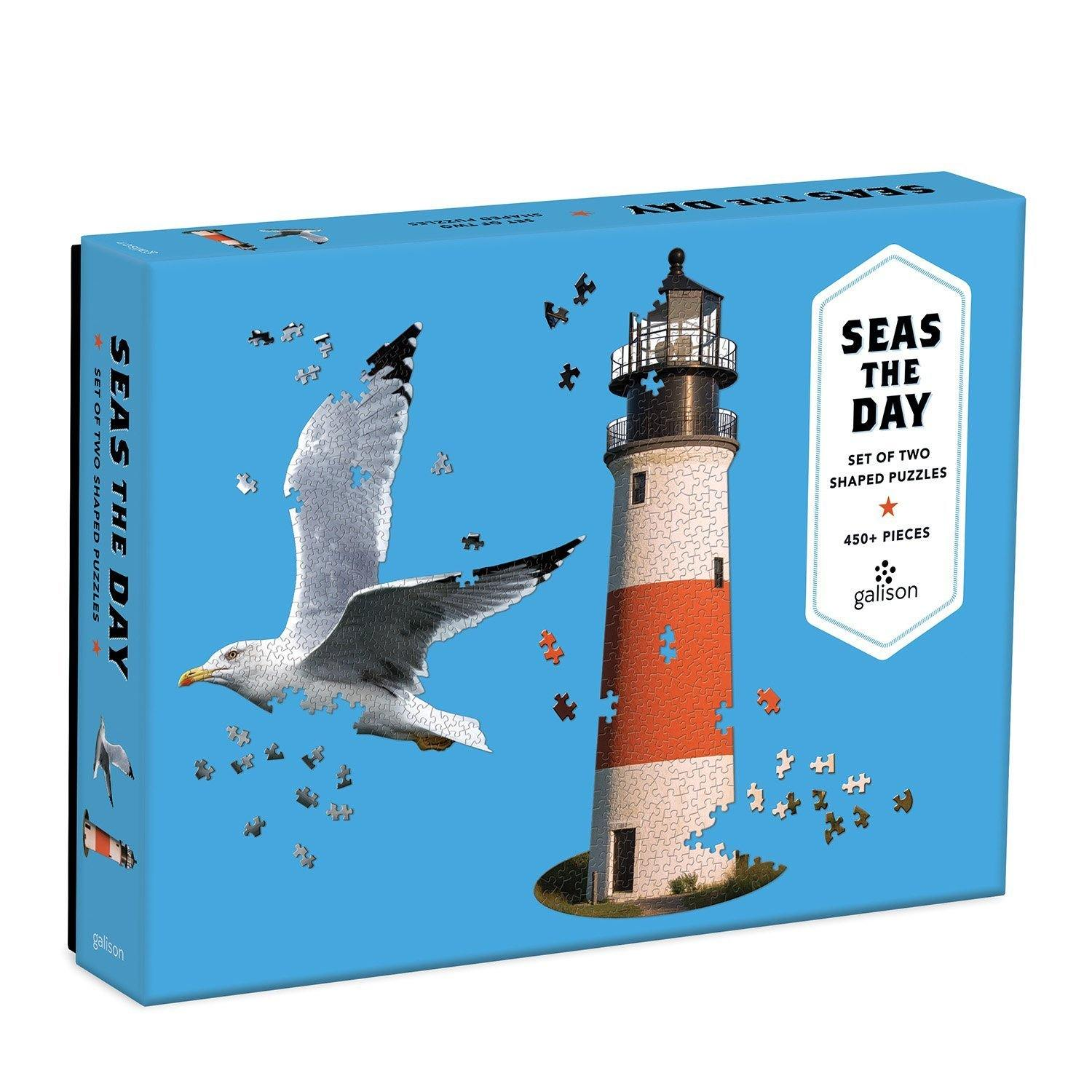 Seas The Day 2 In 1 Jigsaw Puzzle, Toys & Games by Insideout