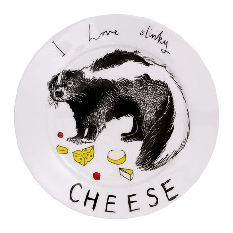 I Love Stinky Cheese Side Plate - insideout-home