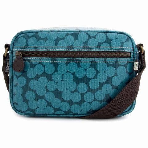 sophia and matt blue spot mini box bag