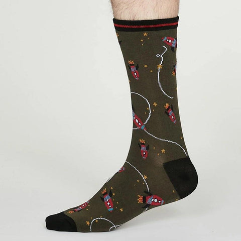 Cosmos Bamboo Socks Walnut Grey - insideout-home