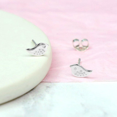 Silver Bird Stud Earrings - insideout-home