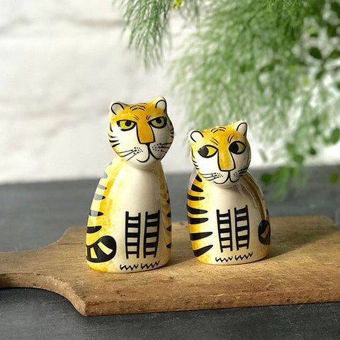 Tiger Salt & Pepper Set