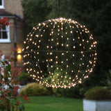 Black Sphere Light 40cm - insideout-home