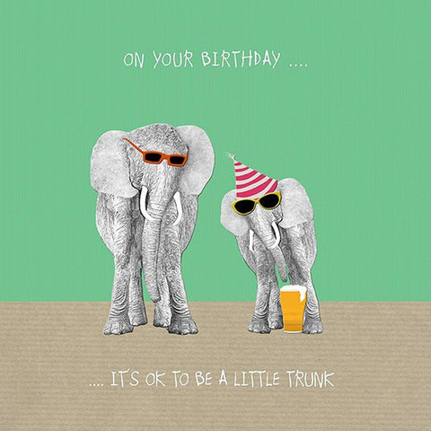 OK To Be A Little Trunk Card - insideout-home