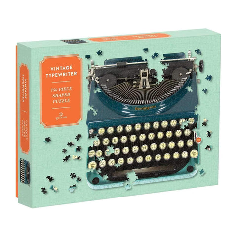 Vintage Typewriter Jigsaw Puzzle 750 Pieces