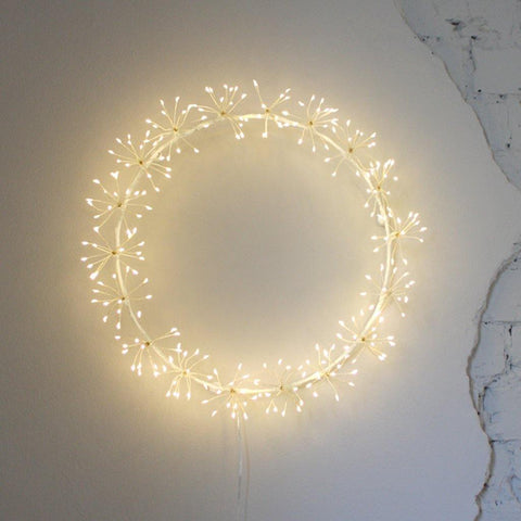 Starburst Wreath Light 45cm - insideout-home