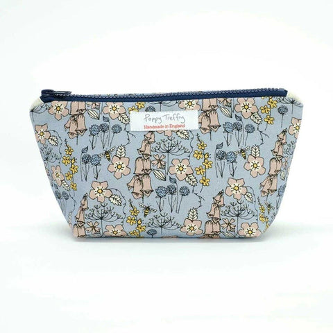 Wild Flowers Small Wash Bag - insideout-home