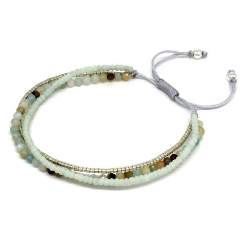Zamba Friendship Bracelet Mint - insideout-home