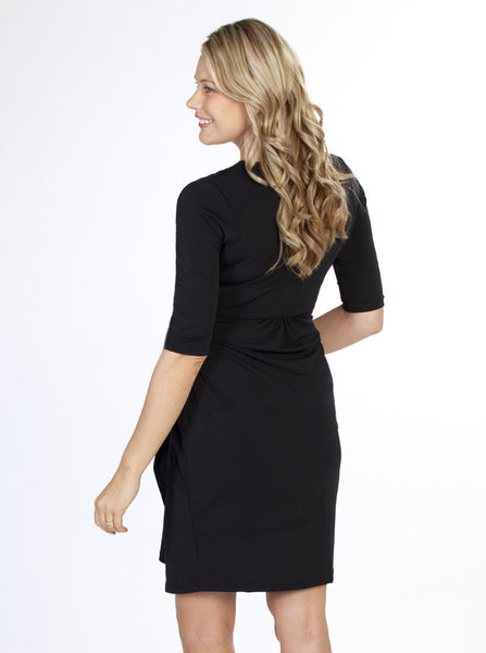 """Emy"" Maternity Wrap Dress - Angel Maternity Europe - 4"