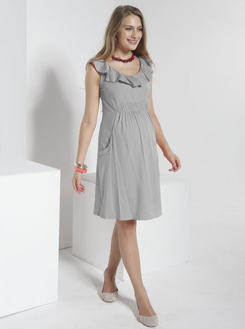 """Holly"" Summer Maternity Dress - Angel Maternity Europe - 1"