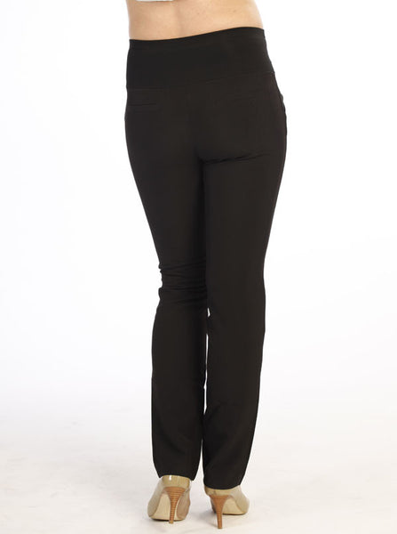 Black Maternity Work Trousers - Angel Maternity Europe - 3