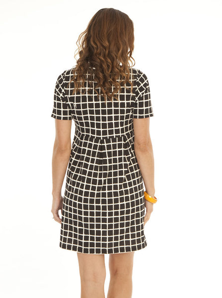 Plaid Maternity Work Dress - Angel Maternity Europe - 3