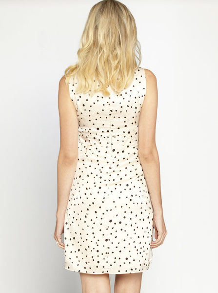 Chiffon Polka Dots Maternity Dress - Angel Maternity Europe - 3