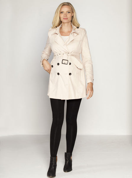 Maternity Classic Trench Coat - Angel Maternity Europe - 3