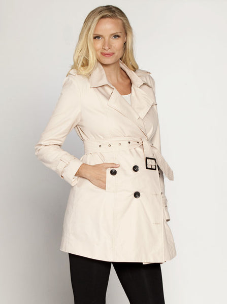 Maternity Classic Trench Coat - Angel Maternity Europe - 1
