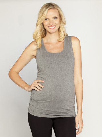 Basic maternity cotton vest top - Angel Maternity Europe - 1