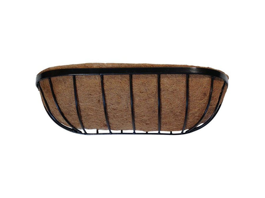 Trough Planter / Manger Planter - Pre-lined with coco liner - 24""