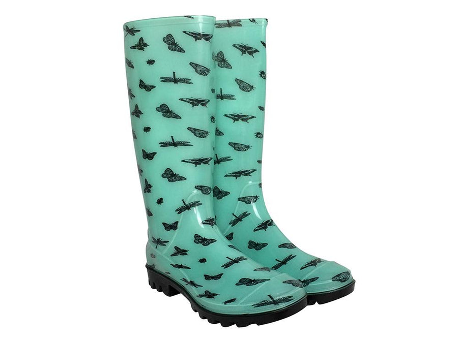 Briers Bug Print - Ladies Wellington Boots