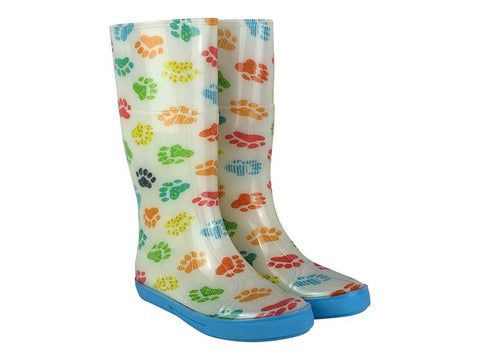 Briers Paw Print - Ladies Wellington Boots