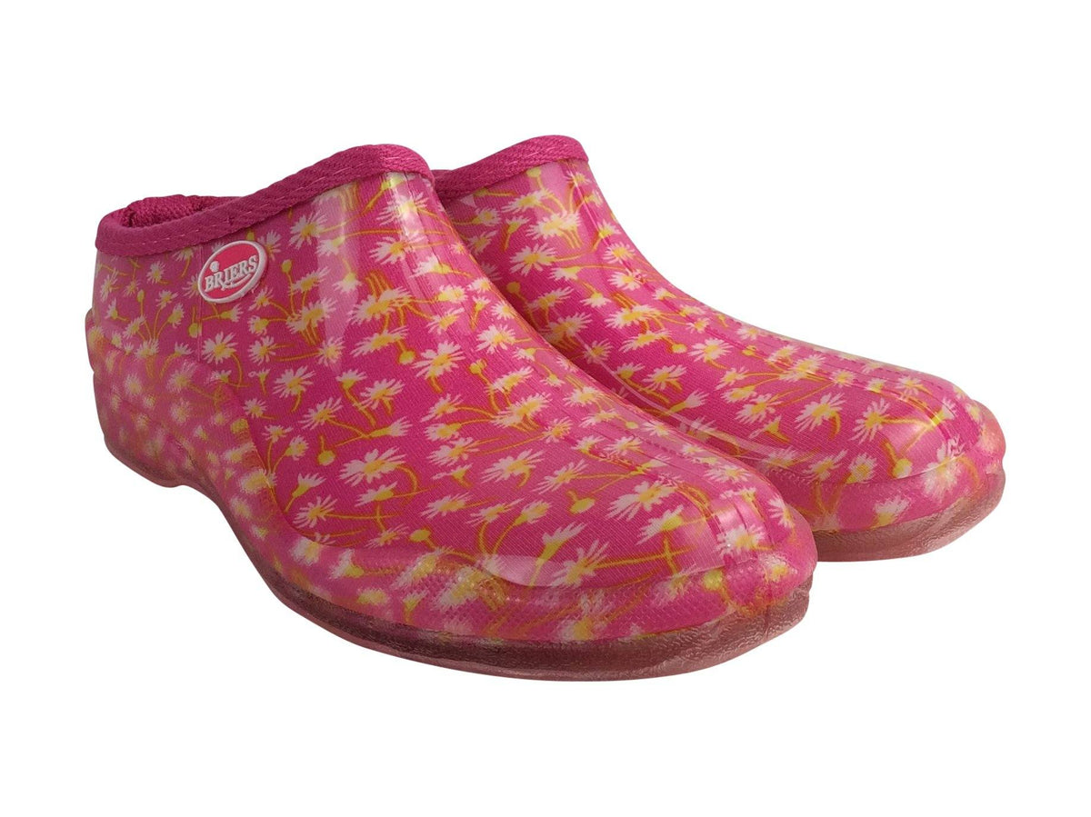 Briers Pink Daisy - Ladies Clogs