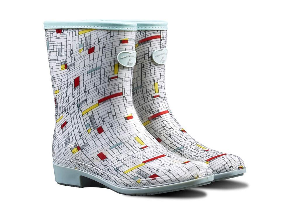 Hemingway Designed 'The Grind' - Ladies Wellington Boots