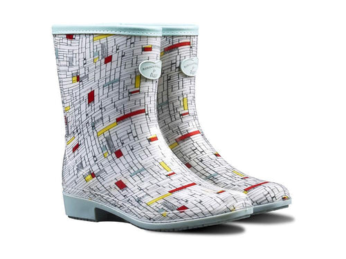 Briers Patterned Ladies Wellington Boots - The Grind