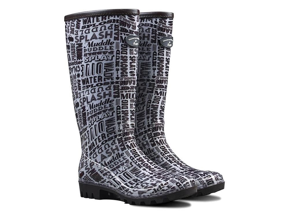 Hemingway Designed 'Typo' - Ladies Wellington Boots