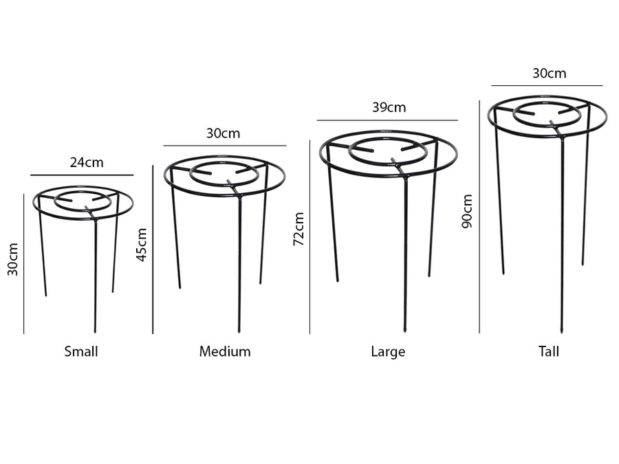 Plant Support Circle - Measurements