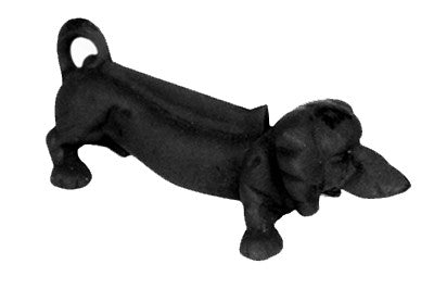Dog Cast Iron Boot Scraper -