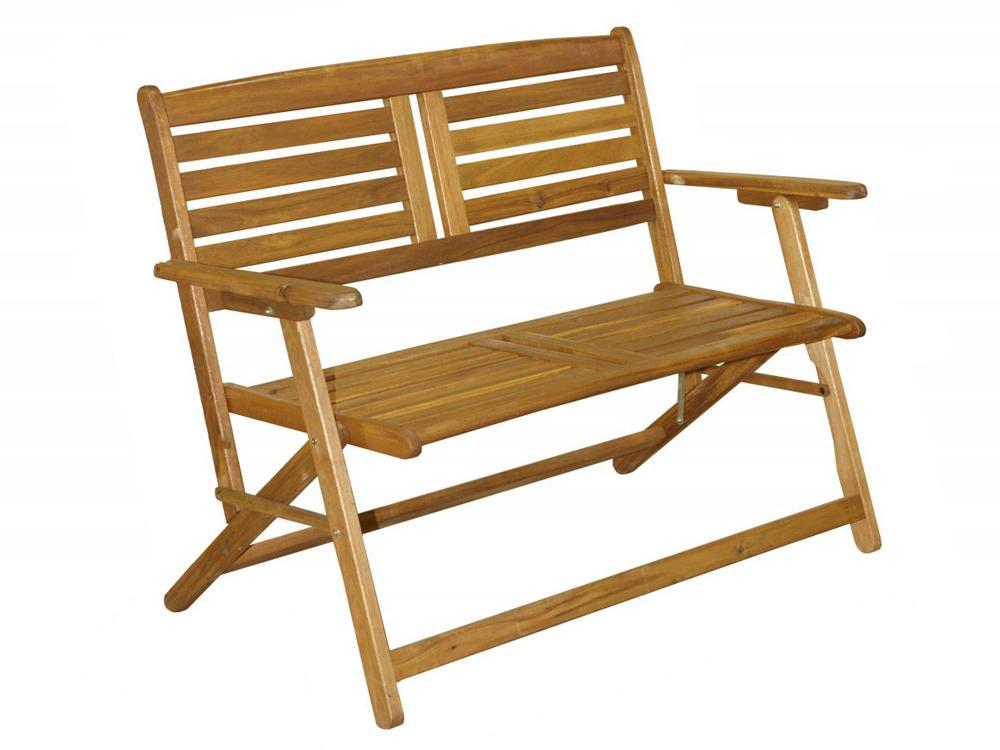 Royalcraft Atlantic Folding 2 Seater Bench