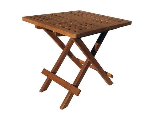 Hardwood Garden Folding Side Table