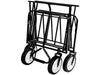 Folding Garden Wagon - Folded