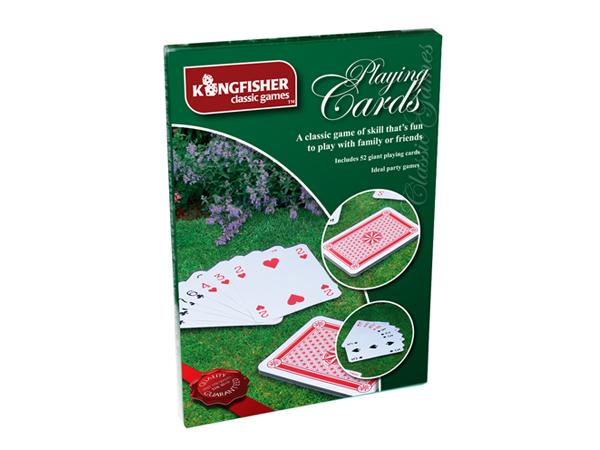 Giant Playing Cards Garden Game Set