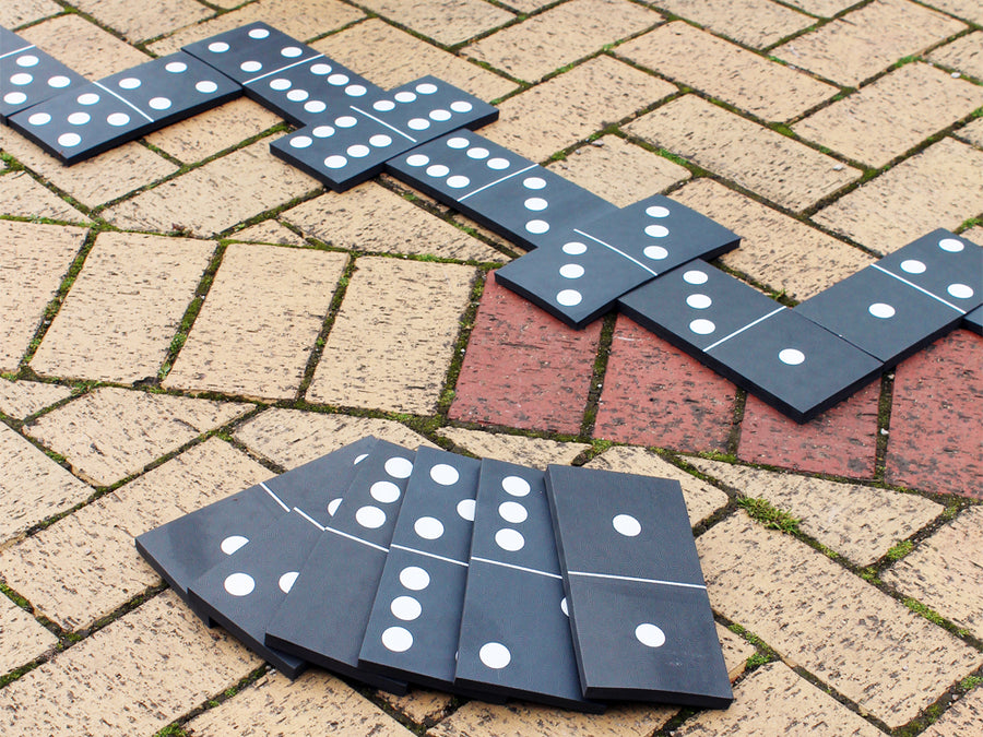 Giant Dominoes Garden Game