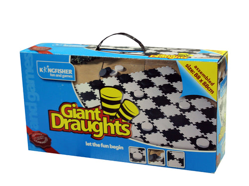 Garden Game - Giant Draughts (boxed)