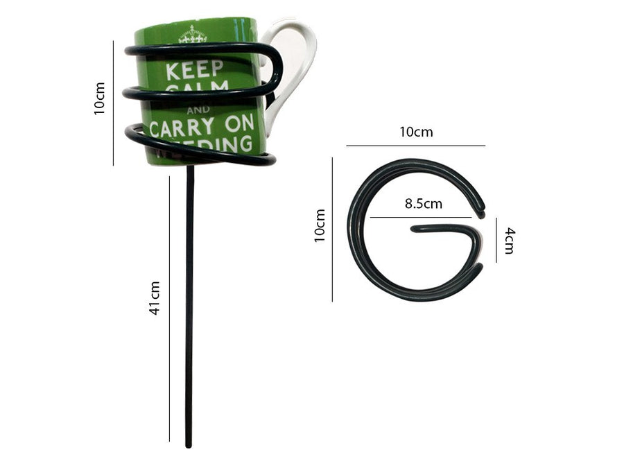 Outdoor Drinks Holder - Mug Holder - Measurements