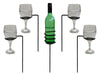 Garden Drinks Holders - Wine Glass Holders