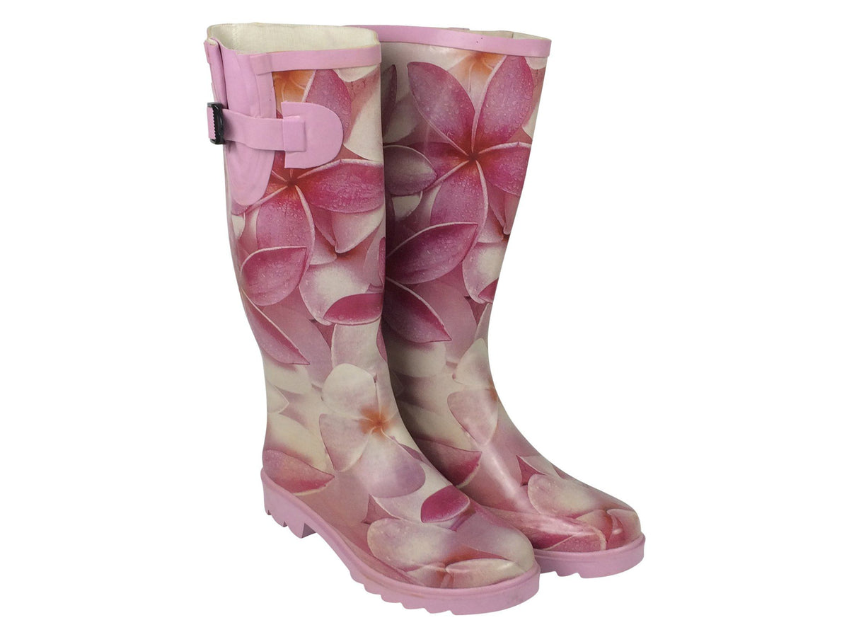 Pink Orchid - Ladies Wellington Boots