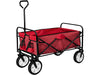 Folding Garden Wagon - Red