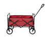 Folding Garden Wagon - Red - Side
