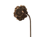 Decorative Rusty Rose Stake Rose Head