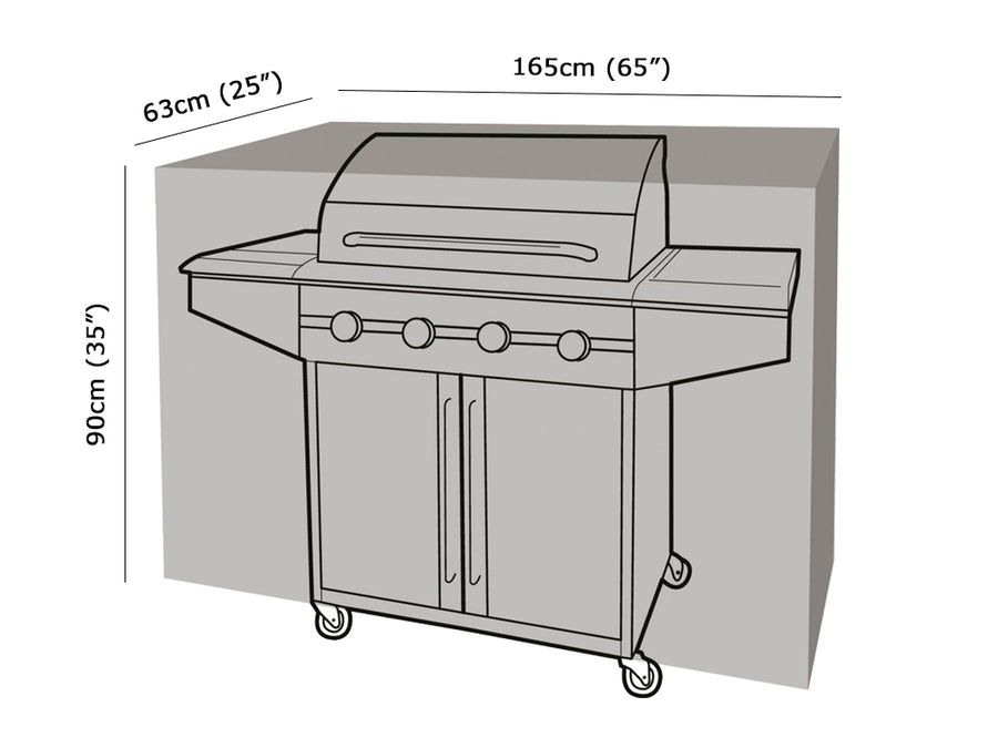 W1120 Extra Large Classic BBQ Cover Measurements