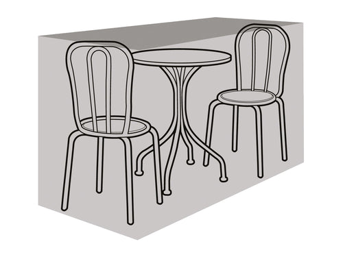 W1184 2 Seater Small Bistro Set Cover - Worth Gardening by Garland