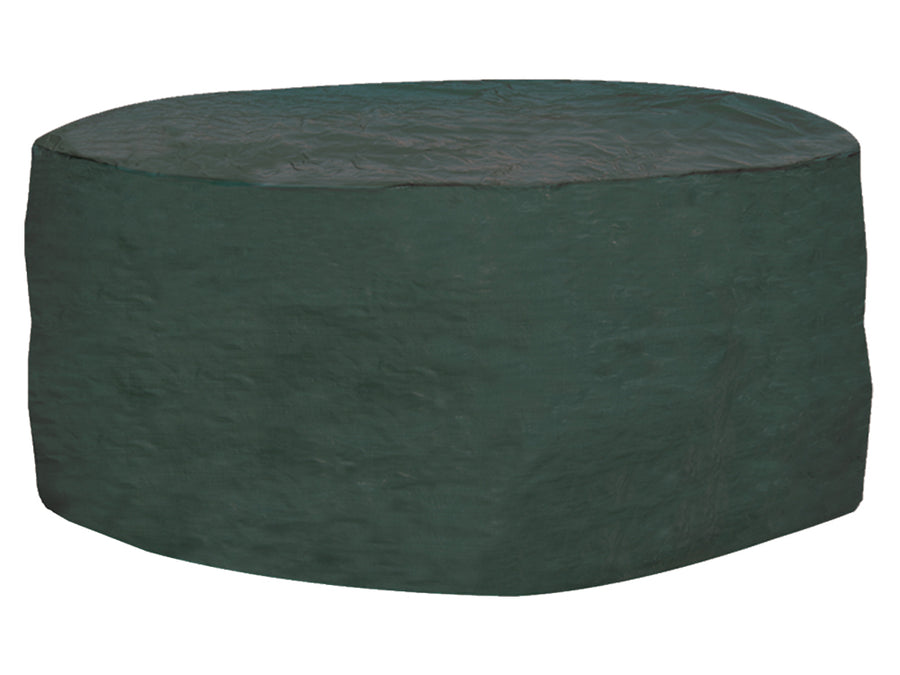 W1200 6-8 Seater Round Table & Chairs Cover - Super Tough Polyethylene Grade