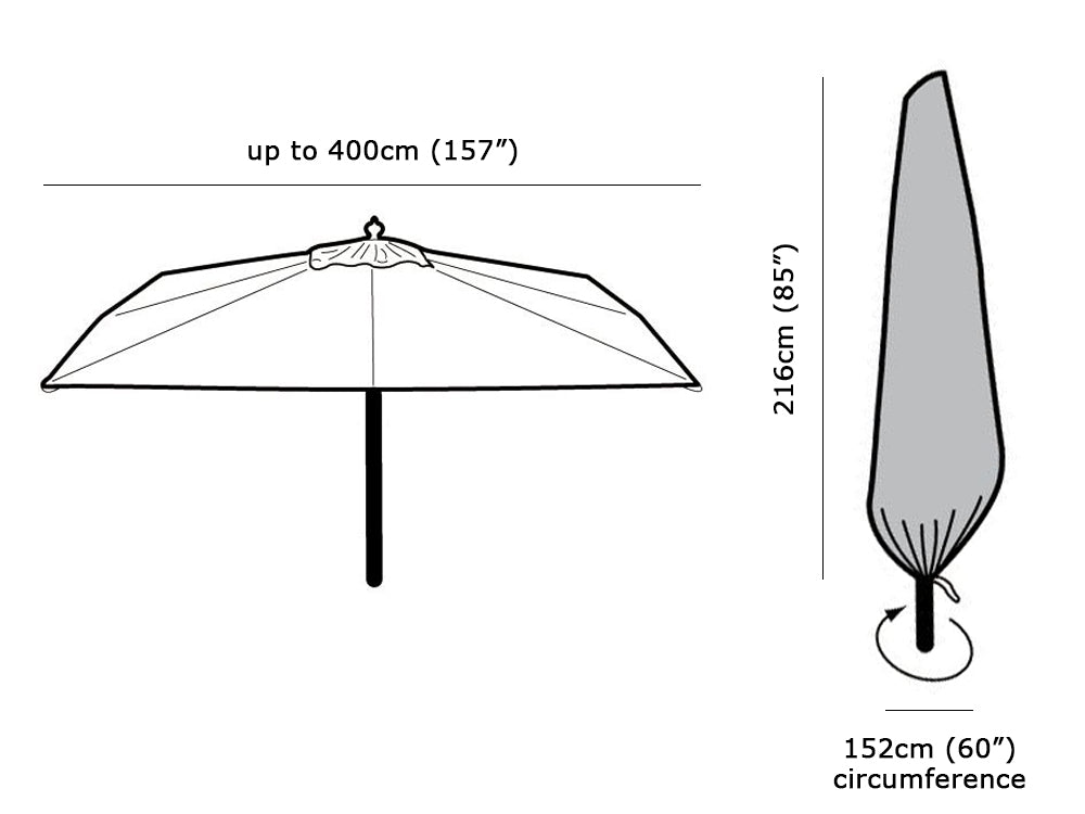 Extra Large Parasol Cover