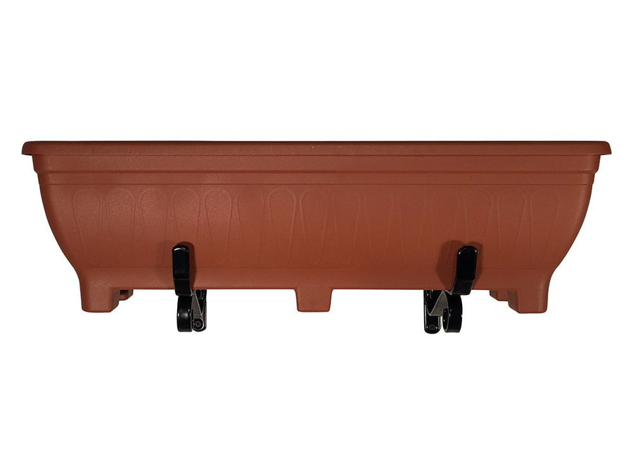 Trough Brackets for wall mounting planters - Front