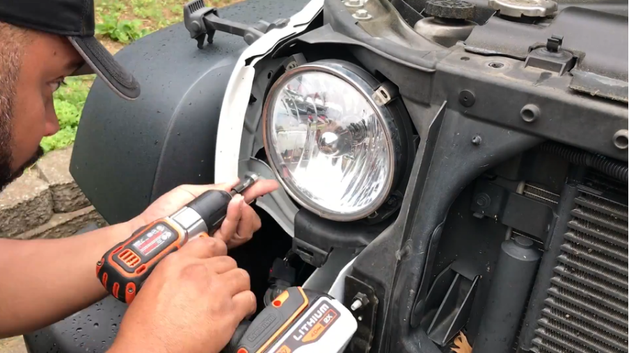 how to install the led headlights for jeep wrangler JK