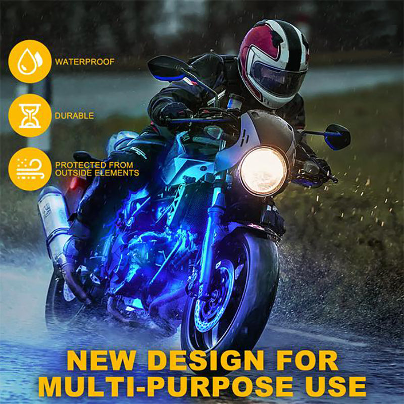Moto Series LED RGB Underbody Glow Kit with Remote Control
