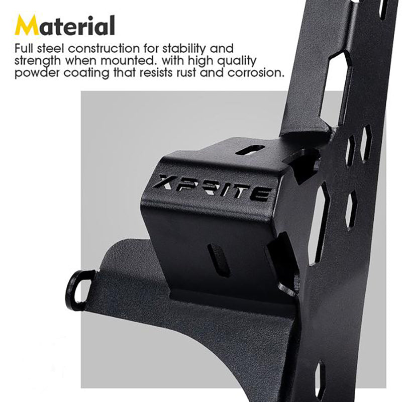Prevail Series Mounting Brackets with Upper and Lower Light Mounts
