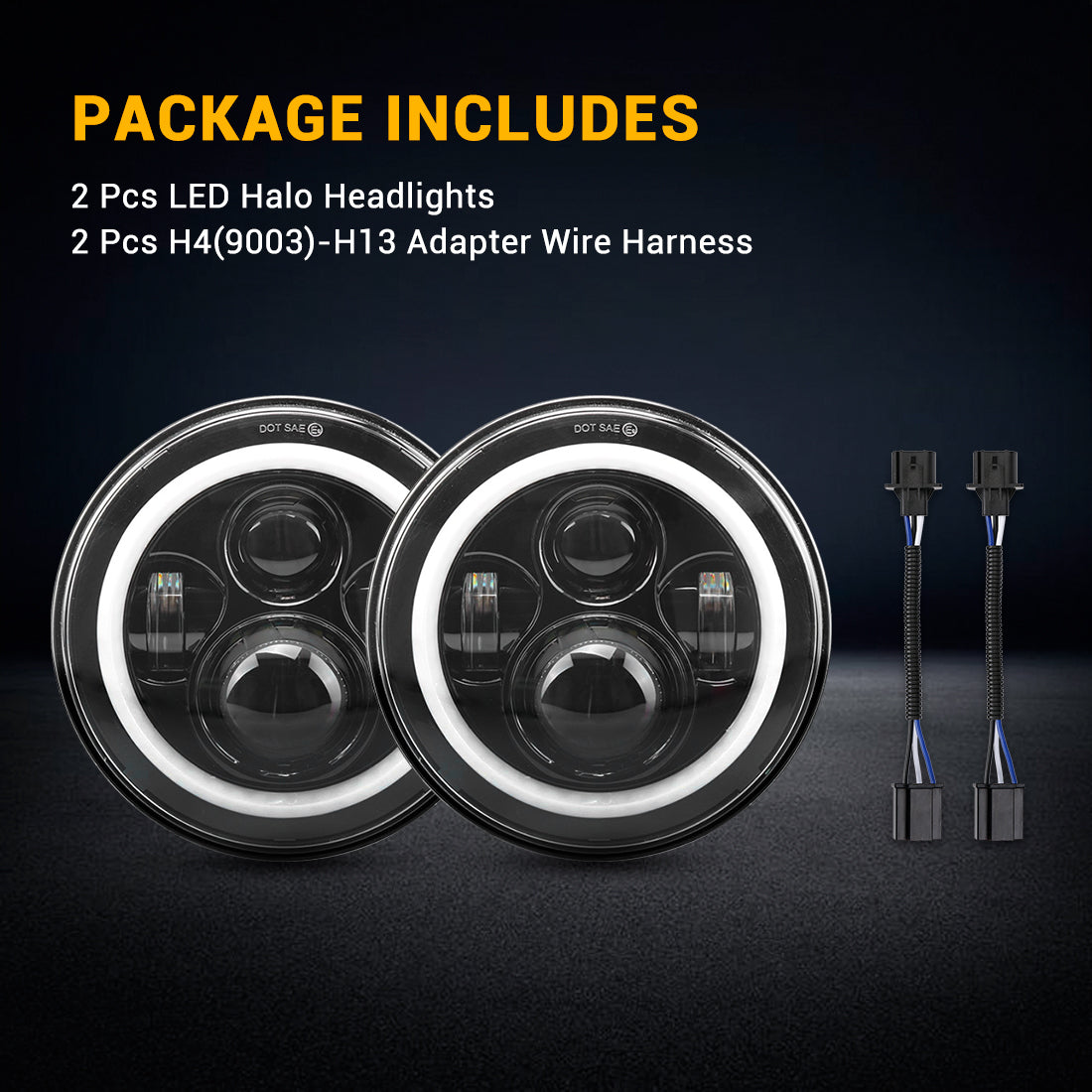 jeep led headlights